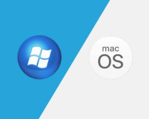 windows va macOS